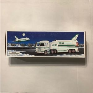 Hess Toy Truck & Space Shuttle 1999 New